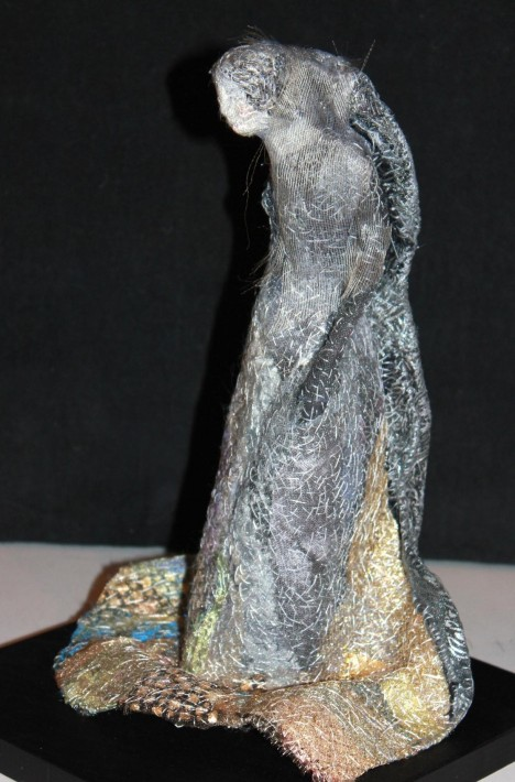 Cinderella, embroidered figure from the Fairy Tale Series