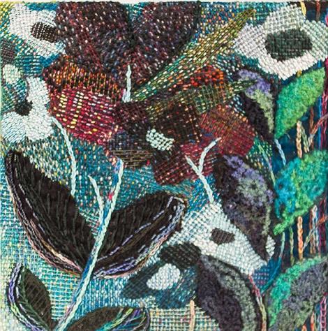 Black Flowers / Svarta blommor detail / detalj