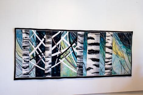 The Time of Birch / Björkens tid, 80 x 225 cm