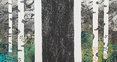 My Forest / Min skog, min stam, min skog 74 x 120 cm